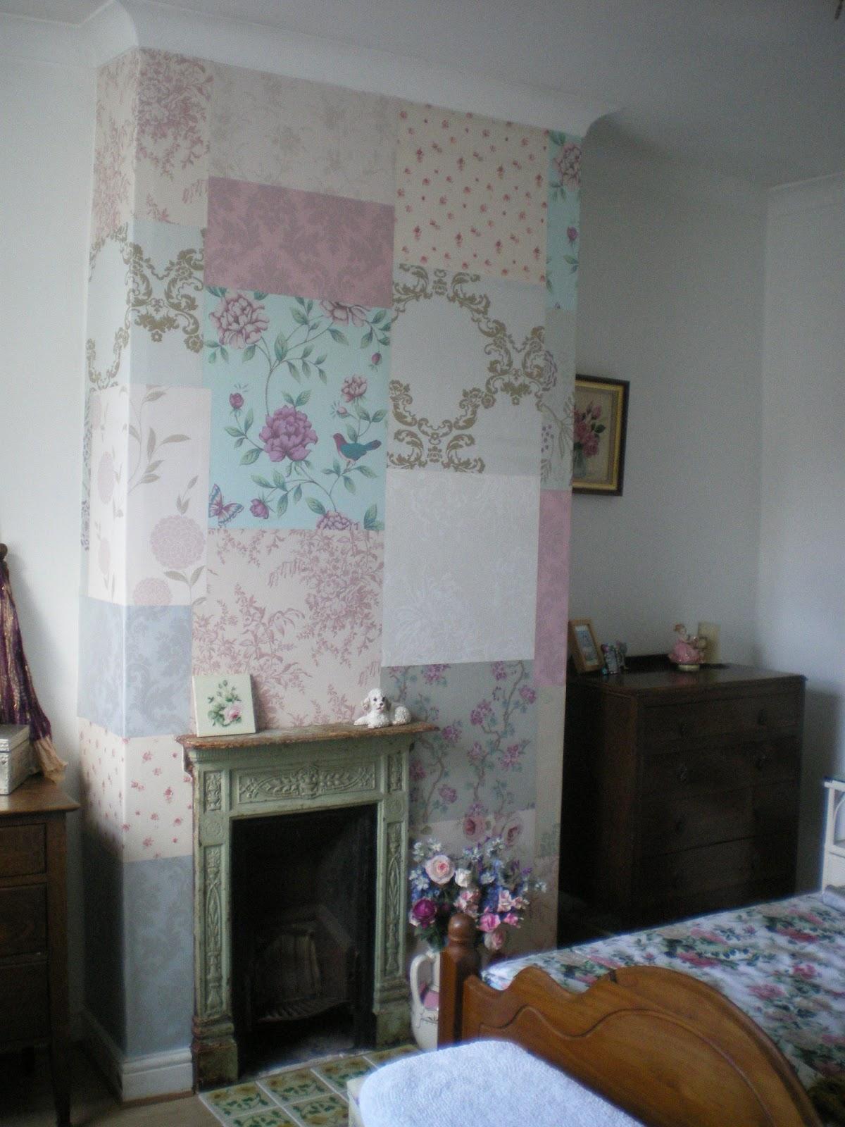 Wallpaper Feature Wall Chimney Breast   Free Download Wallpaper   DaWallpaperz
