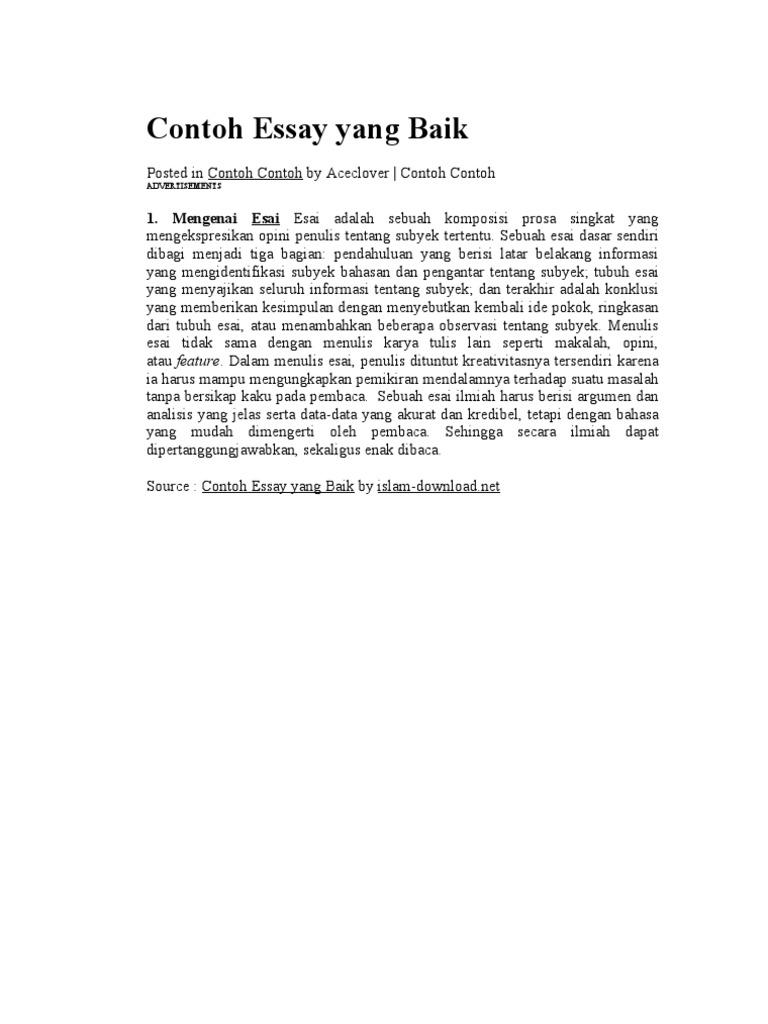 Contoh Essay Ilmiah Kedokteran Pdf Download Gambar Online Download