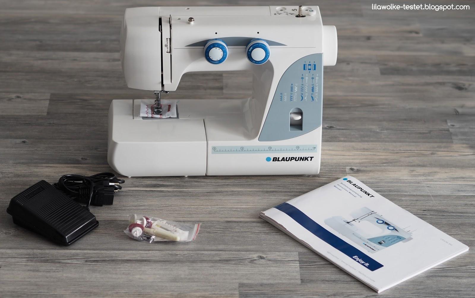 blaupunkt nähmaschine casual 845 im test  lilawolke  testet ~ Nähmaschine Unterfaden Einstellen