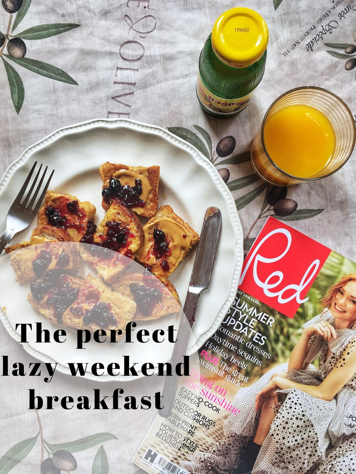 The Perfect Lazy Weekend Breakfast with Pago Premium Juices