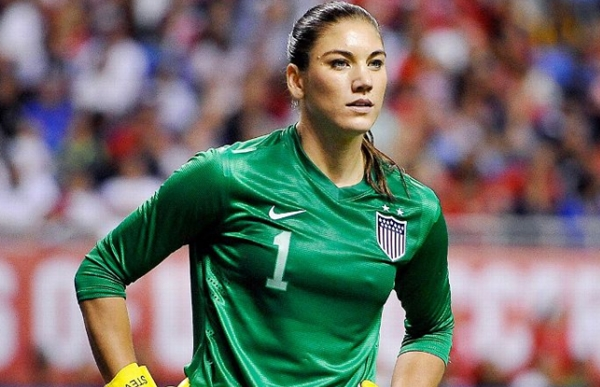 Fotos de Hope Solo nua