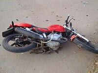 Accidente casi fatal en Av Castelli