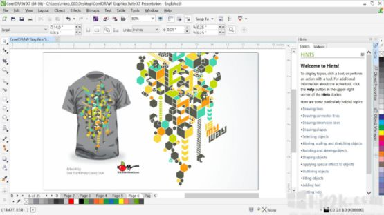 CorelDraw Graphics Suite X8 Screenshot 2