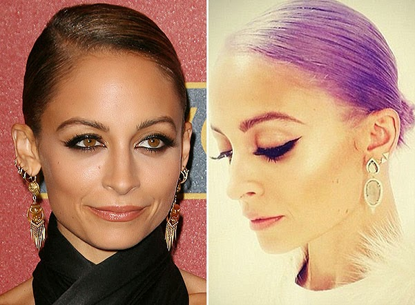 new hair color Nicole Richie