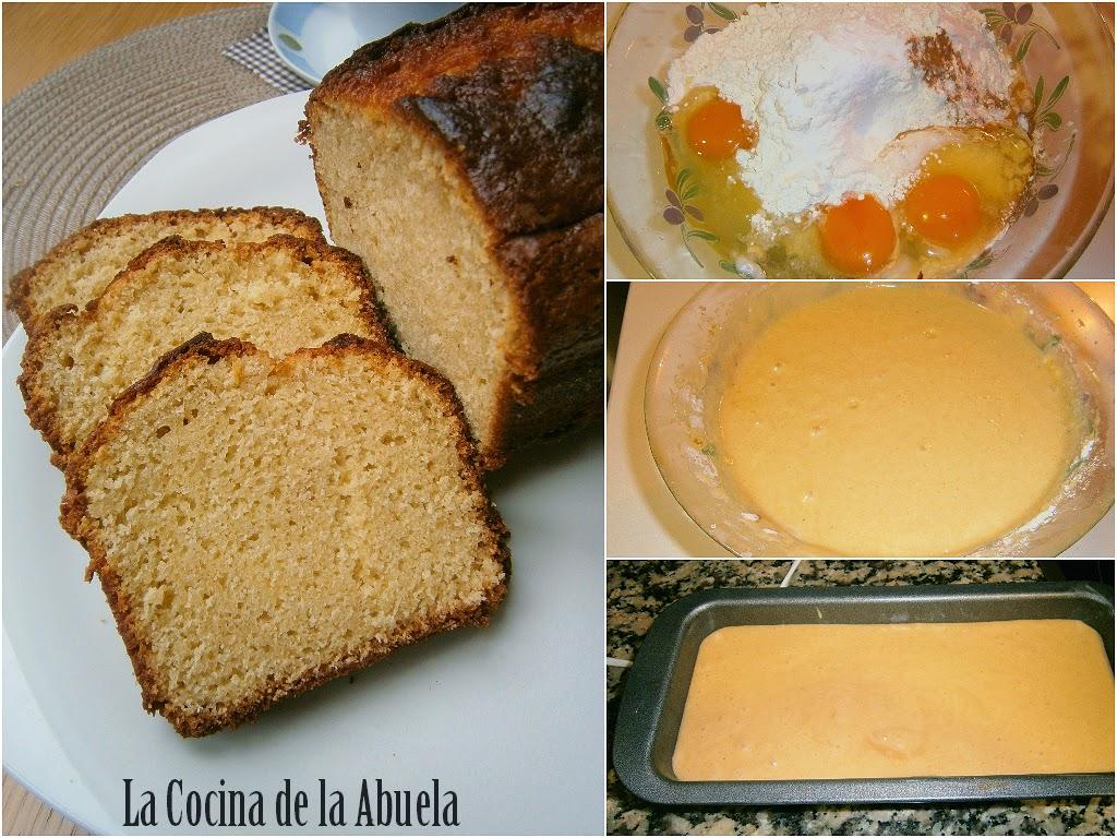 Bizcocho de Canela y Naranja.
