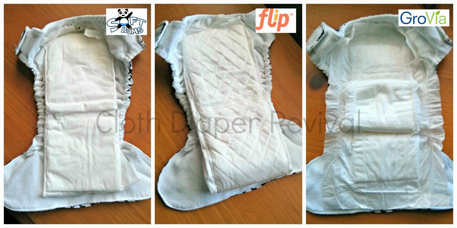 Hybrid cloth diapers