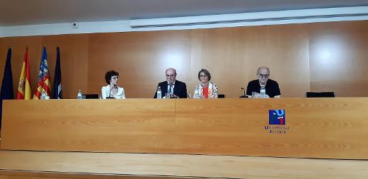 La AVI promueve la investigación aplicada a la empresa en una reunión con la rectora y los grupos de investigación de la UJI