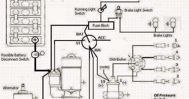 Basic Wiring Ign Sw on Basic Ignition Switch Wiring Diagram