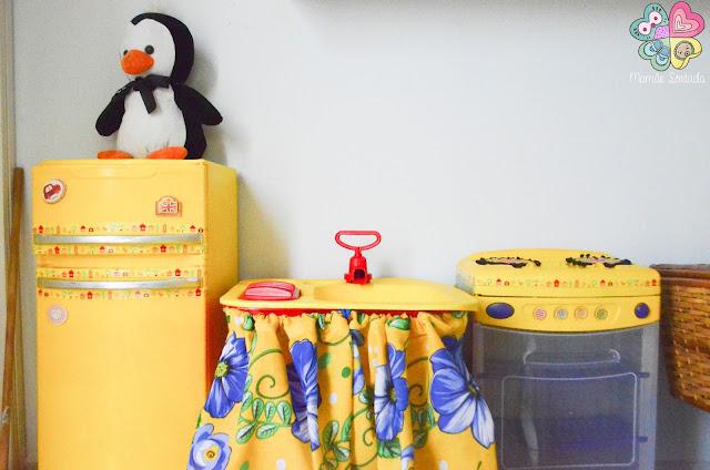 brinquedo com cara nova. reformando cozinha de infantil com ar retrô