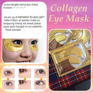 Khasiat dan Manfaat Masker Mata Crystal Collagen Gold Eye Mask 1