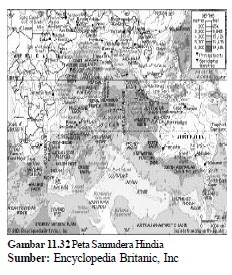 Letak Batas Luas Relief Samudera hindia