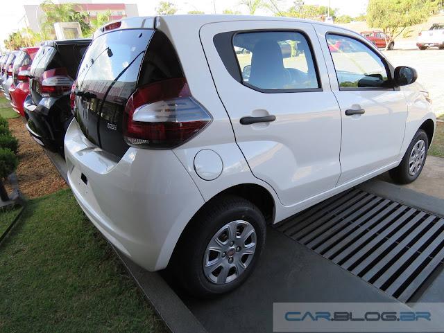 Fiat Mobi: preço reduzido para R$ 29.990 em agosto