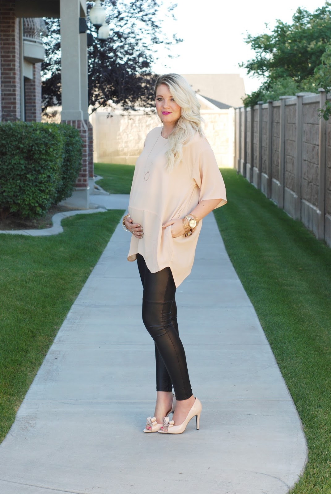 Maternity Outfit, Pregnant Style, Fashion Blogger