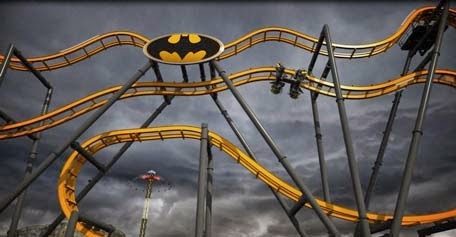 Batman Ride in Dubai Six Flags Theme Park?