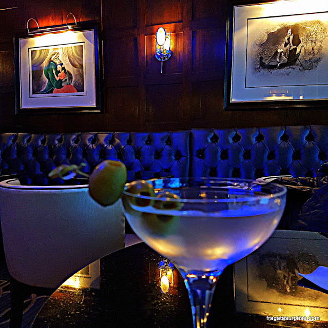 Blue Bar, Hotel Algonquin, Nova York