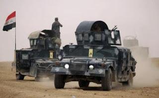 عاجل القوات العراقية تسيطر على الجهة الشرقية لجسر الفتحة غرب الحويجة