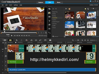 Software editing videoh
