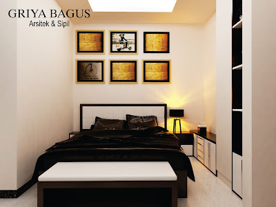 Desain Interior Kamar Kos Jakarta Kamar S view 5