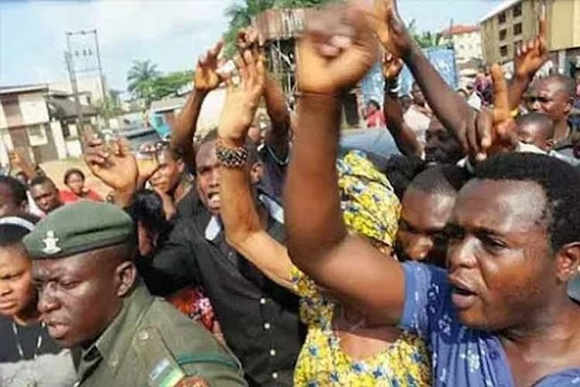 SOUTH SOUTH CHRISTIAN SHUT DOWN ASABA IN PROTEST AGAINST INDISCRIMINATE KILLING BY HERDSMEN