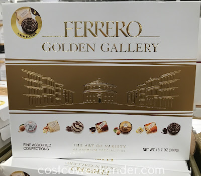 Enjoy eating some sweets with the Ferrero Rocher Golden Gallery assortment
