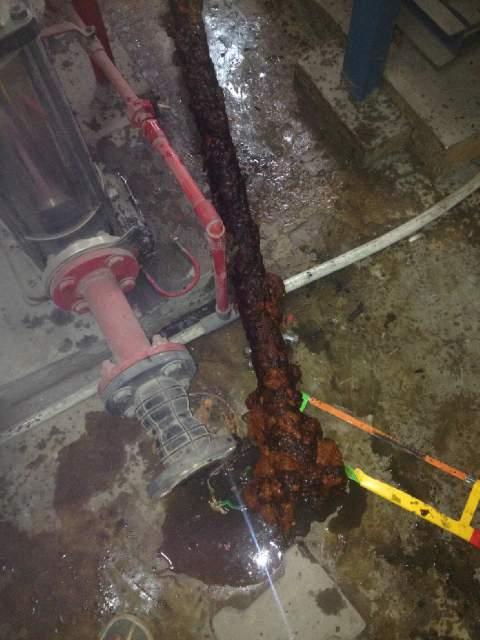 Perbaikan Pipa Hydrant System di Gedung