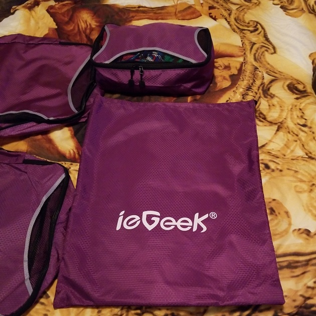 ieGeek Packing Cubes Review