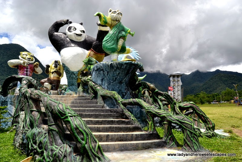 Kung Fu Panda at Campuestohan Highland Resort