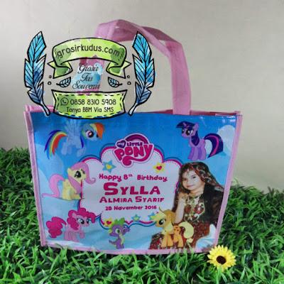 tas ulang tahun my little pony