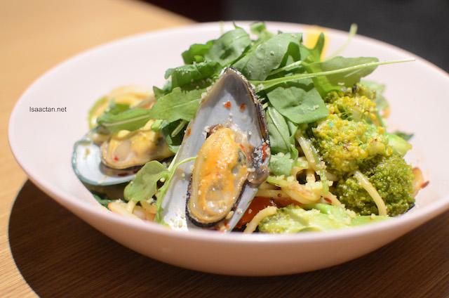 Seafood Aglio Olio - RM23