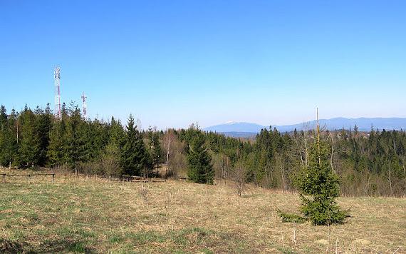 Widok w stronę Babiej Góry.