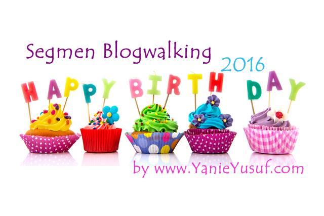 Segmen Blogwalking YanieYusuf 2016