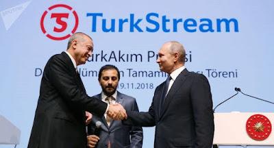 """Газпром объявил о завершении прокладки морской части """"Турецкого потока"""""""