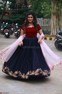 Actress Aathmika in lovely Maraoon Choli ¬  Exclusive Celebrities galleries 050.jpg
