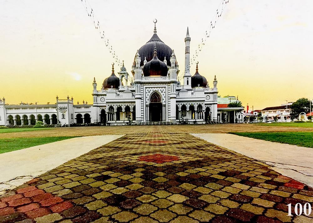 jual dinding wallpaper untuk masjid islam