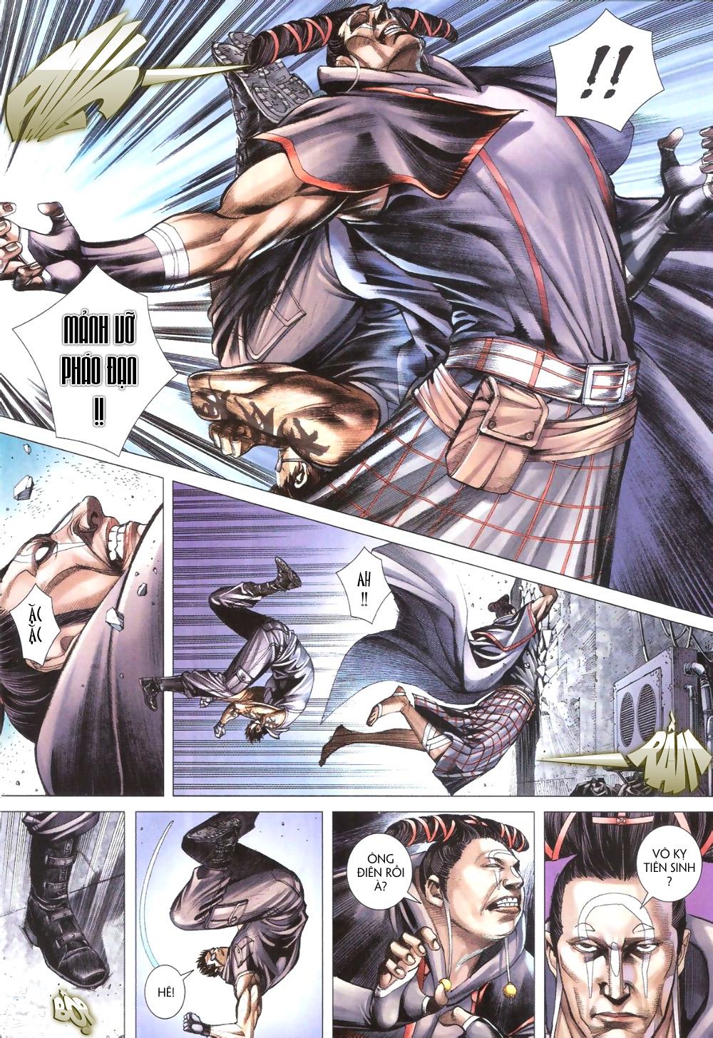 Đại Quân Phiệt chap 9 trang 14
