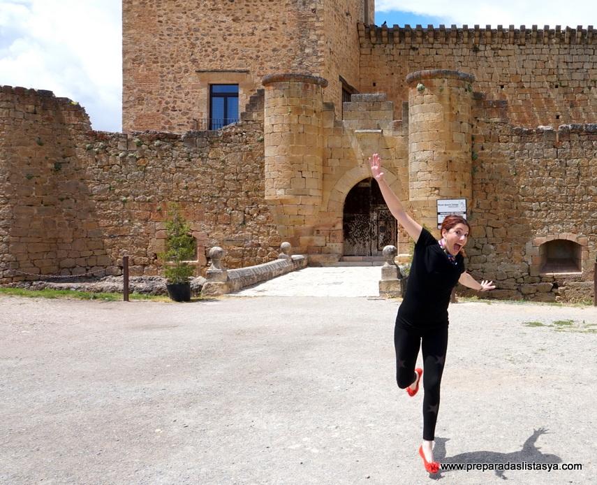 castillo medieval pedraza