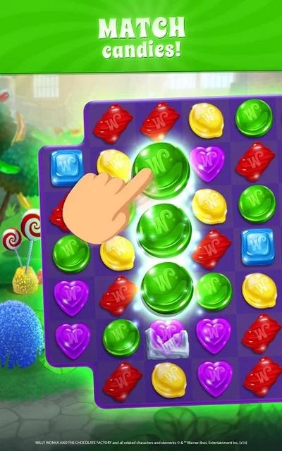 wonka's world of candy hile apk