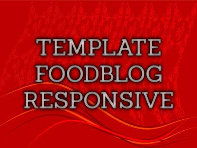 Template Terbaru 2017 Food Blog Template Download Gratis