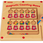 http://theplayfulotter.blogspot.com/2015/05/magnetic-counting-maze.html