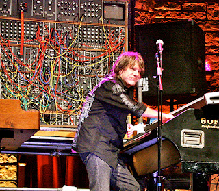 Keith Emerson of ELP with Moog