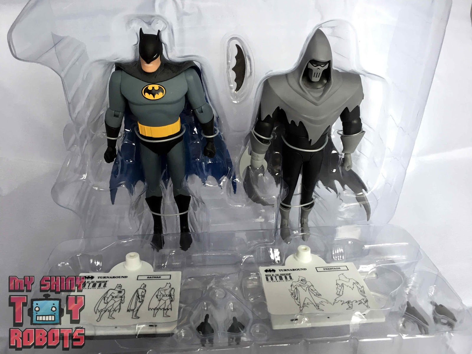 The Animated Series Mask of the Phantasm Batman /& Phantasm Action Figure 2-Pack