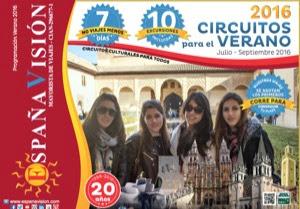 Catálogo circuitos Españavision 2016