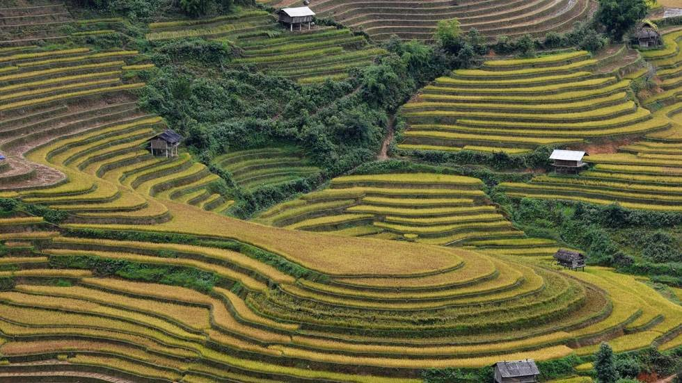 9. Mu Cang Chai, Vietnam - 50 Stunning Aerials That Will Make You See the World in New Ways (PHOTOS)