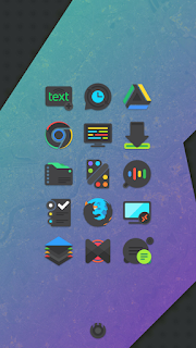 Crispy Dark - Icon Pack(SALE!) - 2
