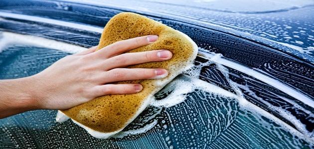 كيفية غسل السياراة