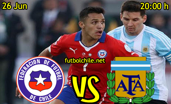 VER STREAM RESULTADO EN VIVO, ONLINE:  Argentina vs Chile