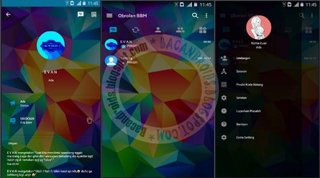 BBM Mod Transparan Style Theme v3.2.2.8 Apk