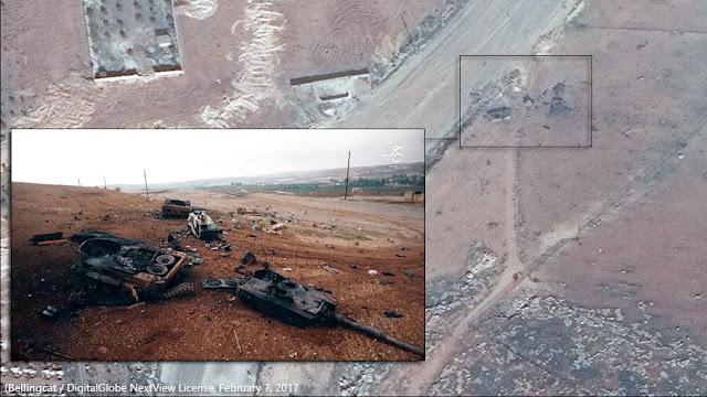 1 x Leopard 2A4, 1 x Kobra/Akrep ZPT