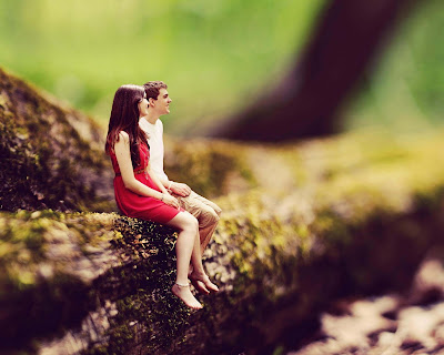Lower-lovelycouple-sitting-at-silent-place