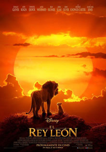 El rey león 2019 por Mega